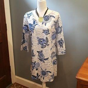GRETCHEN SCOTT sea turtle dress